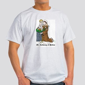 St. Anthony of Padua Ash Grey T-Shirt