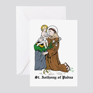 St. Anthony of Padua Greeting Cards (Pk of 10)