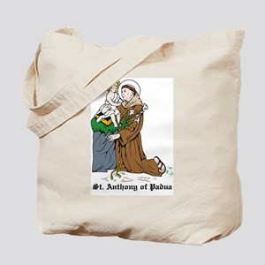 St. Anthony of Padua Tote Bag