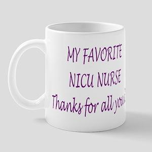 preemie NICU nurse Mug