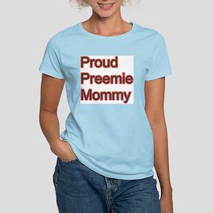 preemie mom Women's Pink T-Shirt