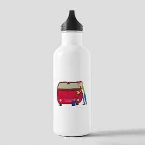 Car Washing Stainless Water Bottle 1.0L