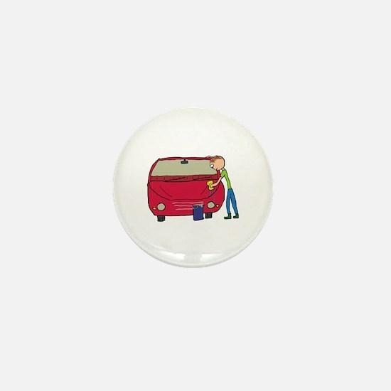 Car Washing Mini Button