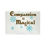 Compassion is Magical Rectangle Magnet (10 pack)