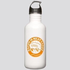 Bacon Is Meat Candy Stainless Water Bottle 1.0L