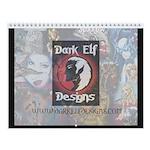 Dark Elf Designs Wall Calendar
