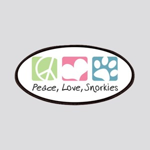 Peace, Love, Snorkies Patches