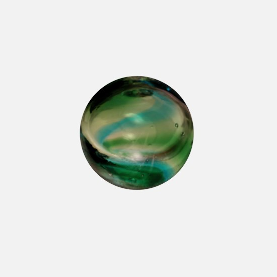Sea Witch Glass Mini Button
