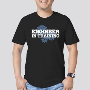 Engineer In Training Men's Fitted T-Shirt (dark)