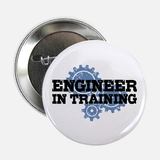 """Engineer In Training 2.25"""" Button"""