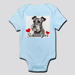 Love Schnauzers Infant Bodysuit