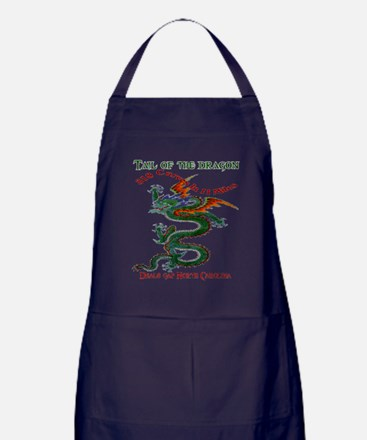 Tail Of The Dragon Apron (dark)