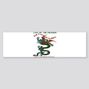 Tail Of The Dragon Sticker (Bumper)