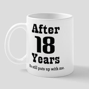 18th Anniversary Funny Quote Mug
