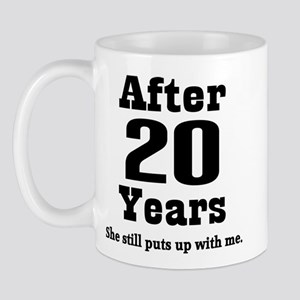 20th Anniversary Funny Quote Mug