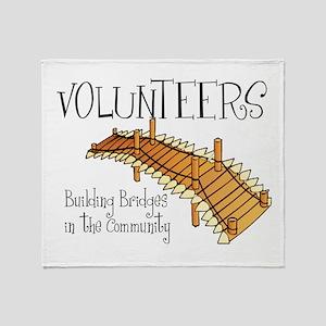 Building Bridges Throw Blanket