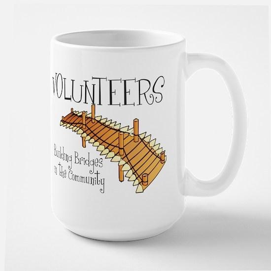 Building Bridges Large Mug