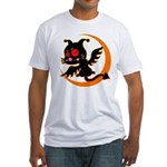 Devil cat Fitted T-Shirt