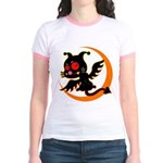 Devil cat Jr. Ringer T-Shirt