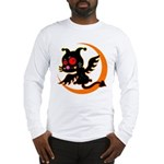 Devil cat Long Sleeve T-Shirt