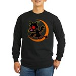 Devil cat Long Sleeve Dark T-Shirt