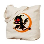 Devil cat Tote Bag