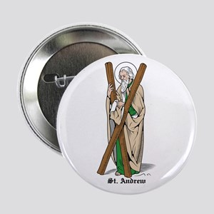 """St. Andrew 2.25"""" Button (10 pack)"""