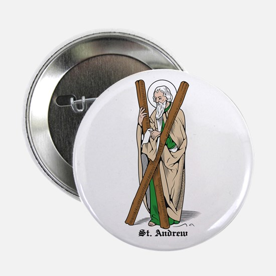 "St. Andrew 2.25"" Button (10 pack)"