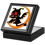 Devil cat Keepsake Box