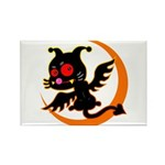 Devil cat Rectangle Magnet (10 pack)