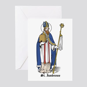 St. Ambrose Greeting Cards (Pk of 10)