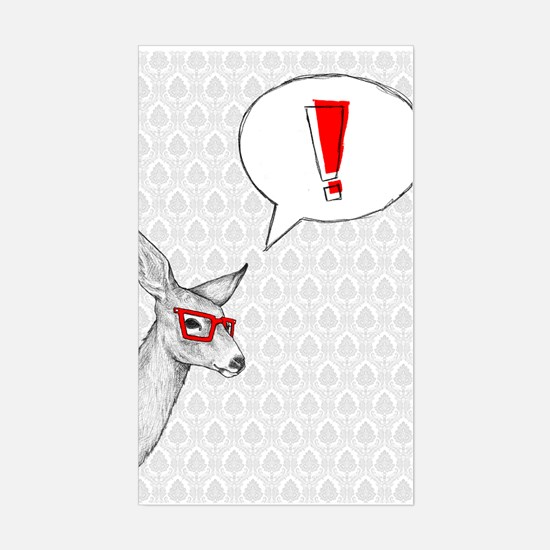Oh Deer Sticker (Rectangle)