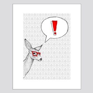 Oh Deer Small Poster