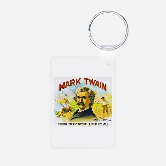 Mark Twain Cigar Label Keychains