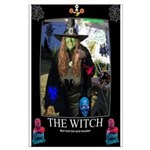 Halloween Witch Large Poster
