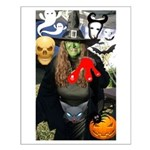 Halloween Witch Small Poster