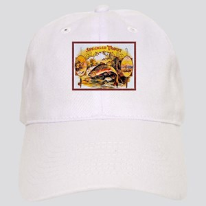 Speckled Trout Cigar Label Cap