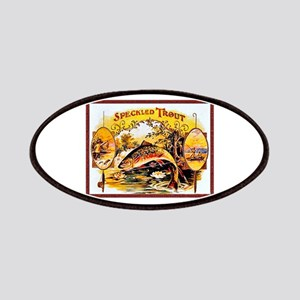 Speckled Trout Cigar Label Patches