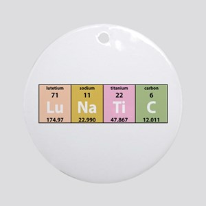 Chemical Lunatic Ornament (Round)