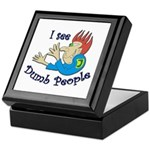 Dumb t-shirts Keepsake Box