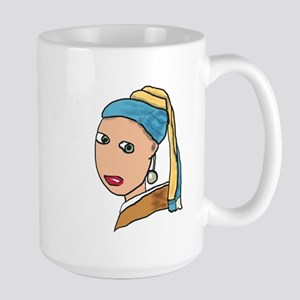 Girl with a Pearl Earring Mugs