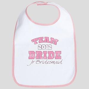 Team Bride 2012 Jr Bridesmaid Bib