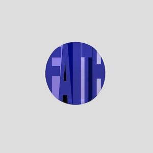 Faith (blue) Mini Button