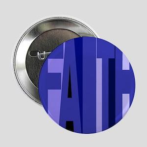 """Faith (blue) 2.25"""" Button"""