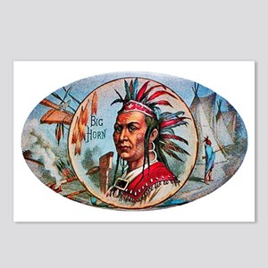 Indian Chief Cigar Label Postcards (Package of 8)