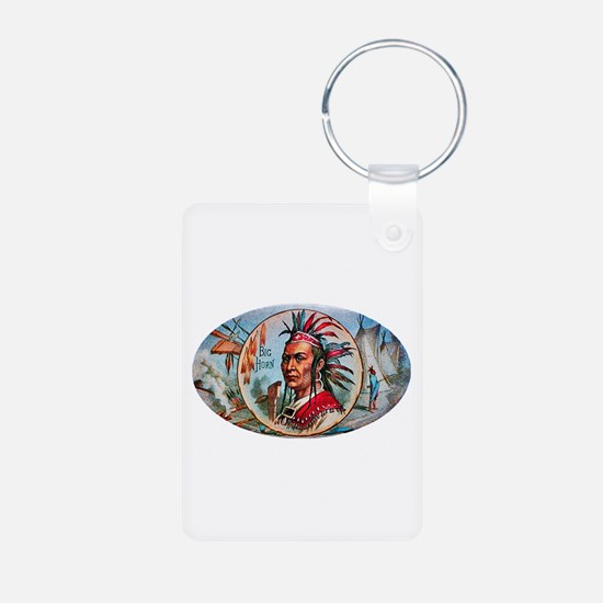 Indian Chief Cigar Label Keychains