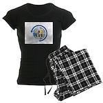 ARISS Women's Dark Pajamas