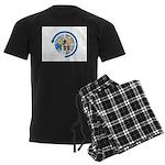 ARISS Men's Dark Pajamas