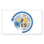 ARISS Sticker (Rectangle 50 pk)