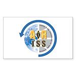 ARISS Sticker (Rectangle 10 pk)